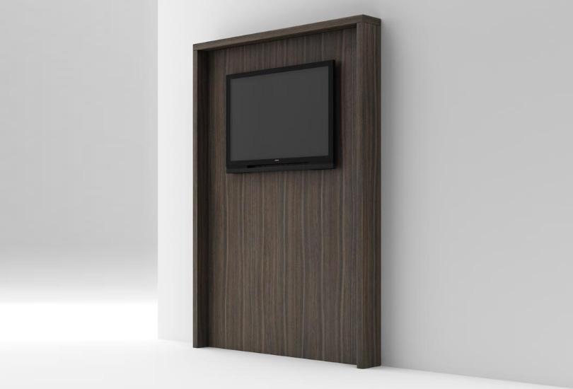 Panel TV 120*16*184 cm. Ranurado | Concepto Bustper