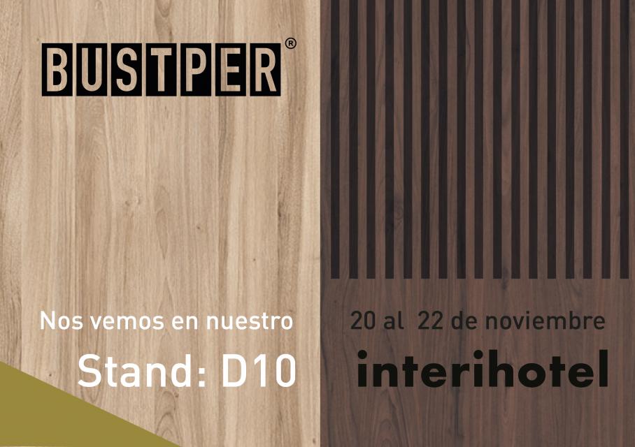 Stand D10 en Interihotel